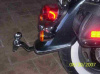 Susuki 1500 Intruder removable hitch 1988-2004